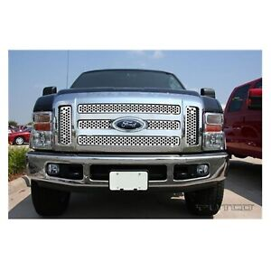 Putco 84197 Stainless Steel Heavy Gauge Punch Grille for F-250/F-350 Super Duty