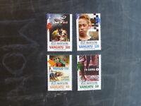 2014 VANUATU THEATRE SET 4 MINT STAMPS MNH