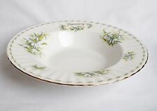 Royal Albert Flower of The Month January Bowl - Rimmed Soup Bowl 1st Quality