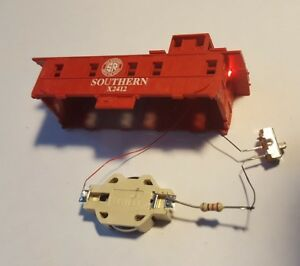 Single Caboose Marker Light Kit, Battery Operated, N Scale