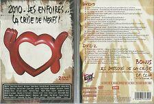DVD - LES ENFOIRES 2010 : LA CRISE DE NERFS GOLDMAN JENIFER CABREL /NEUF EMBALLE