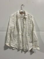 Brooks Brothers Women Ivory Long Sleeve Button-Down Shirt Size 6