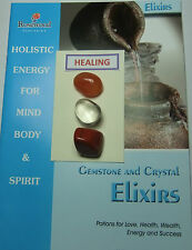 Gemstone & Crystal Elixirs - 'HEALING'- includes 3 Gemstones & 2 great books.