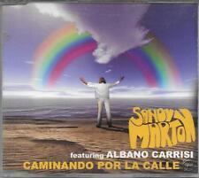"""SANDY MARTON FEAT.AL BANO - RARO CDs """" CAMINANDO POR LA CALLE """""""
