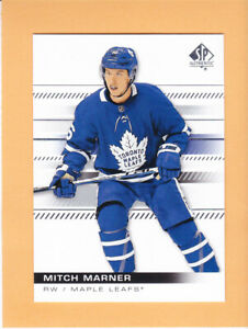 2019 20 SP AUTHENTIC #85 MITCH MARNER BASE TORONTO MAPLE LEAFS