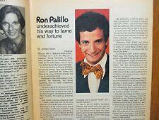 Jan 2, 1977 Chicago Tribune TV Week(RON PALILLO/JULIE KAVNER/WELCOME BACK KOTTER