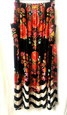 new BRIGHT and BEAUTIFUL SILK CRYSTALS LIFT THE VEIL POCKET SKIRT UP TO sz 22