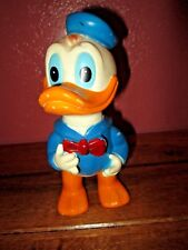 Vintage Disney Donald Duck Squeaky Toy Figurine Squeak Squeaker