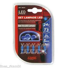 98337  24V Kit Lampade cruscotto Led 1 Led - (T3) - W2x4,6d - 5 pz - D/Blister -
