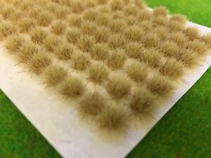 Std Muddy Dead Static Grass Tufts 6mm -Model Scenery Dry Railway Wargames Brown