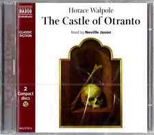 THE CASTLE OF OTRANTO by Horace Walpole, CD, 2 Disc Set, New, Sealed
