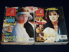 1990S ROYALTY MAGAZINE LOT OF 25 ISSUES - NICE COVERS & PHOTOS - O 672