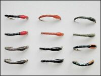 Epoxy Buzzers, Trout Flies, 12 Pack 6 Mixed Colours, Size 14/16, For Fly Fishing