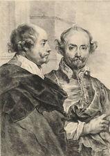 Originaldrucke (bis 1800) mit Porträt & Persönlichkeiten für Radierung