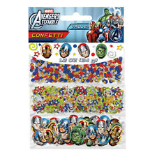 MARVEL AVENGERS SUPER HERO BOYS PARTY TRIPLE PACK CONFETTI TABLEWEAR DECORATIONS