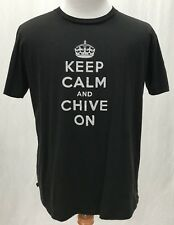 The Chive KCCO - KEEP CALM AND CHIVE ON - Black Shirt - Men's XL