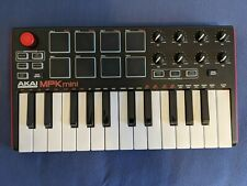 AKAI MPK Mini mkII Keyboard Synthesizer w/ Cable - Great Condition