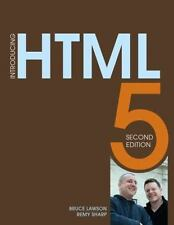 Introducing HTML5 2nd Edition Voices That Matter
