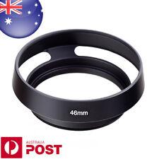 46mm Metal Lens Hood Tilted Vented Lens Hood Shade Sony Lumix Fuji Nikon - Z640B