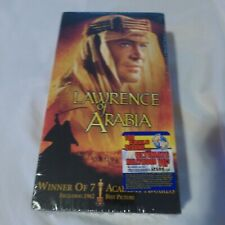 Lawrence of Arabia 2-VHS Tapes NEW SEALED Movie in Package