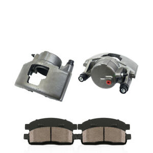 For Doge Ram 2500 GMC C1500 C2500 C3500 Front OE Brake Calipers & Ceramic Pads