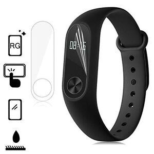 2 X Invisible Screen Protector Military Shield For Xiaomi Mi Smart Wrist Band 2