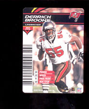 2003 NFL Showdown DERRICK BROOKS Tampa Bay Buccaneers Rare Card
