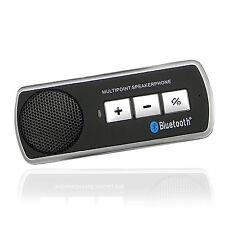BLUETOOTH HEADSET HANDSFREE CAR SPEAKER KIT FOR SAMSUNG IPHONE NOKIA LG