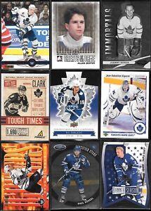 U PICK'EM LOT (220+) Toronto Maple Leafs Player Insert Parallel Serial #'d cards