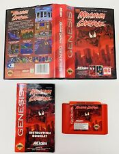 Maximum Carnage RED CART (Sega Genesis, 1994) AUTHENTIC! COMPLETE! FAST SHIPPING