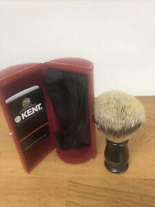 Kent Super Badger Shaving Brush And Case
