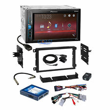 Pioneer 2018 Multimedia Stereo Dash Kit Onstar Harness for 2000+ GM Chevrolet
