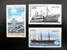 FRANCE FRENCH ANTARCTIC TERRITORY 2004/5 Ships (3) U/M NB625