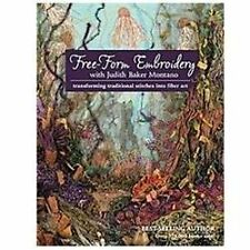 Judith Baker Montano-Free-Form Embroidery With Judith Baker (UK IMPORT) BOOK NEW