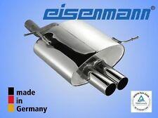 EISENMANN BMW Z3 2,2 /  3,0  2x76mm DAS ORIGINAL ! Edelstahl