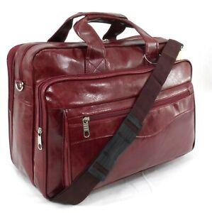 Executive Office Laptop Bag Messenger Briefcase Business Work Bag Travel Case Bu