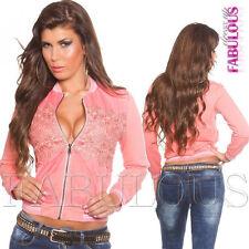 Women's Striped Basic Jackets