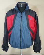 VTG Nike Grey Tag Windbreaker Jacket 90s Colorblock Jordan Retro Coat Air Medium