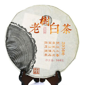 2010 Year 360g FuDing Ancient Tree GongMei Tribute Eyebrow Aged Cake White Tea