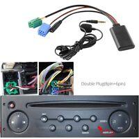 Coche Bluetooth 5.0 Cable Auxiliar Micrófono Manos Libres Teléfono Móvil Ad T2C7