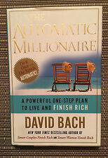 The Automatic Millionaire by David Bach - Hardcover Book
