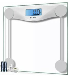 Etekcity Digital Body Weight Bathroom Scale with Body Tape Measure, 400 Pounds