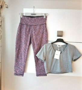 WORKOUT/FEMME LUXE EXCERCISE OUTFIT SIZE 10