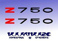 PEGATINA STICKER AUTOCOLLANT ADESIVI AUFKLEBER DECAL Z 750 Z750 MOTO