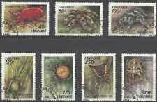 Timbres Arachnides Araignées Tanzanie 1585/91 o lot 27560
