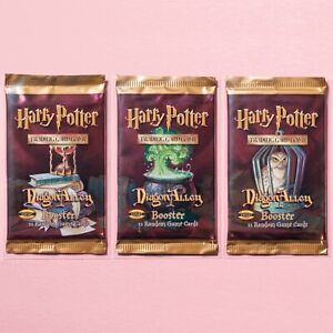 Harry Potter TCG | SEALED Diagon Alley Booster Pack Art Set | WotC Cards