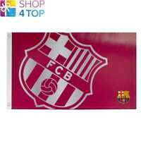 BARCELONA FC LARGE RED FLAG ROOM  OFFICIAL FOOTBALL SOCCER CLUB NEW