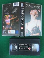 VHS - MADONNA THE GIRLIE SHOW LIVE DOWN UNDER - 1993 Music Tour (NO MC DVD)