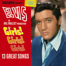 ELVIS PRESLEY  GIRLS! GIRLS! GIRLS! FILM SOUNDTRACK (1962) LP ITALY IMPORT 2018