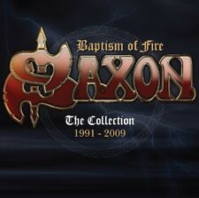 SAXON - BAPTISM OF FIRE THE COLLECTION 1991 - 2009 2 CD NEUF